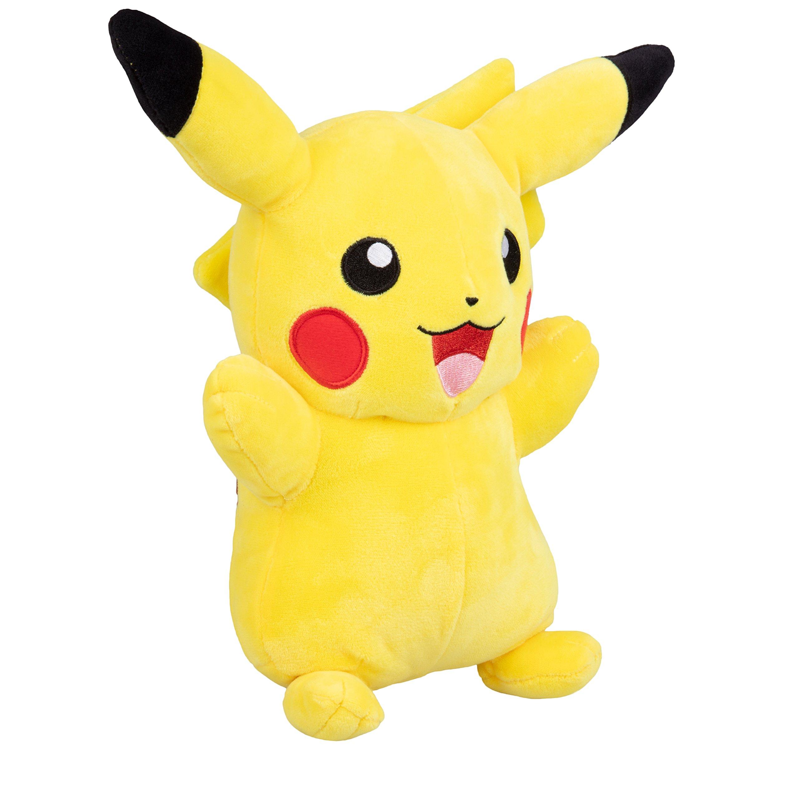 Pokemon Plush, Large 12'' Inch Plush Pikachu by Pokemon