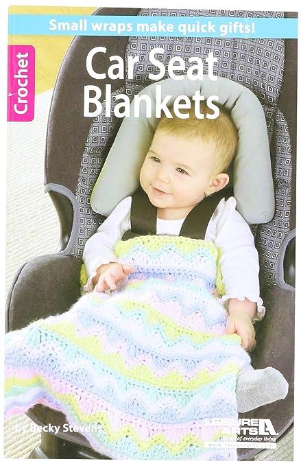 Amazon Leisure Arts Crochet Car Seat Blankets Book