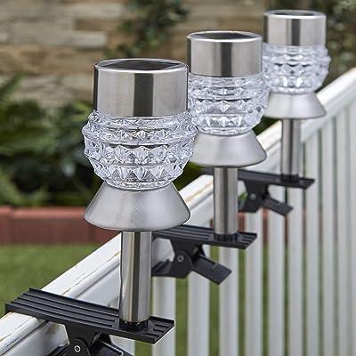 Sets of 3 Solar Clip Lights (Diamond)