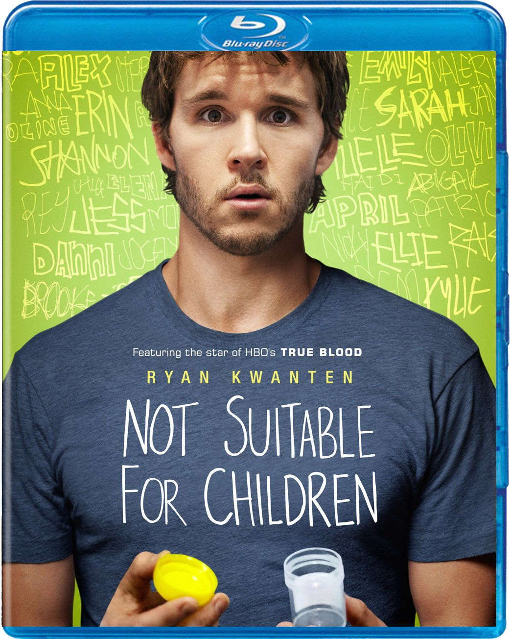 Blu-ray : Not Suitable For Children (Blu-ray)