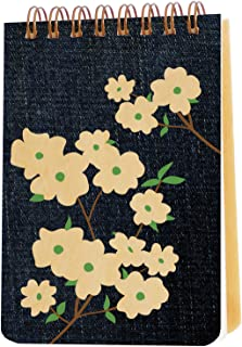 product image for Denim Dogwood Wood Jotter by Night Owl Paper Goods