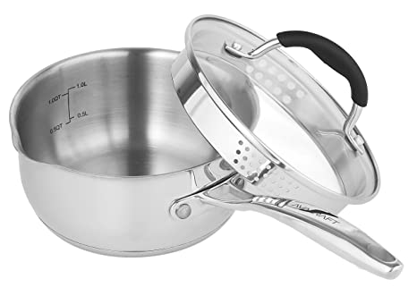 Review AVACRAFT Stainless Steel Saucepan