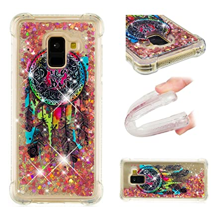 Amazon.com: Galaxy A8 2018 Funda, DAMONDY 3d patrón lindo ...