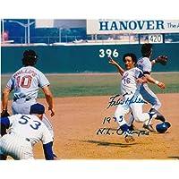 $23 » Autographed Felix Millan Photo - 1973 NL CHAMPS 8x10 - Autographed MLB Photos