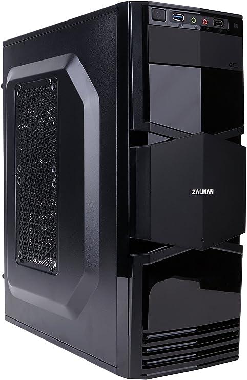 Zalman ZM-T3 Carcasa de Ordenador - Caja de Ordenador (Mini-Tower ...