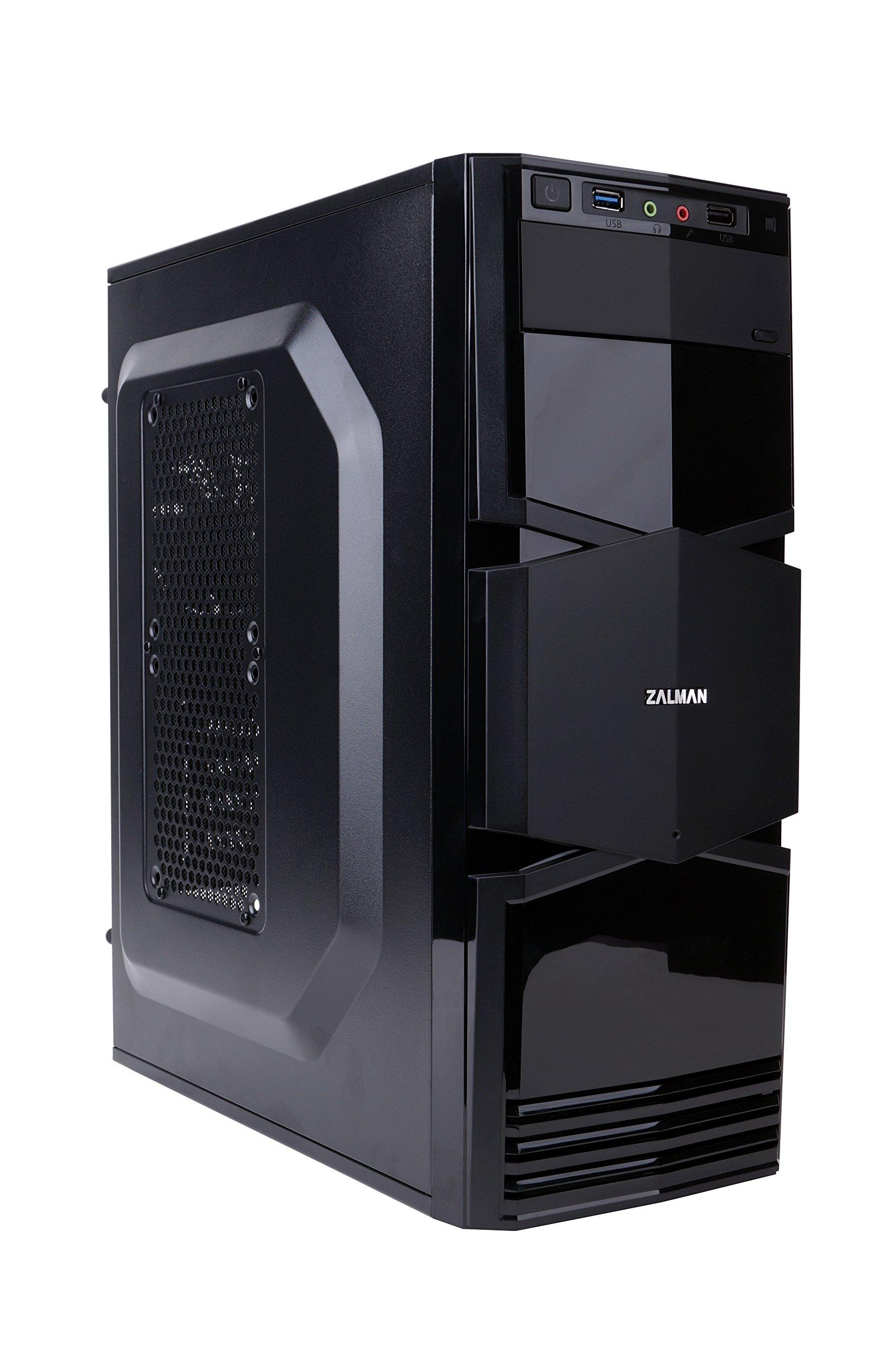 Zalman T3 Micro ATX Mini Tower Computer Case (Black)
