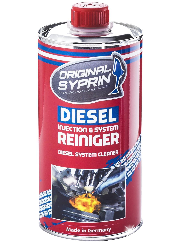 SYPRIN Original Diesel Reiniger 3er Set Diesel-Additiv System-Reiniger Einspritzdü sen-Reiniger Injektor-Reiniger Diesel-Reinigung Dieselmotoren 500 ml