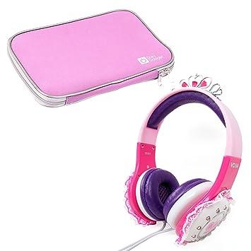 Amazon com: 'Princess' Tiara Headphones in Pink & Purple