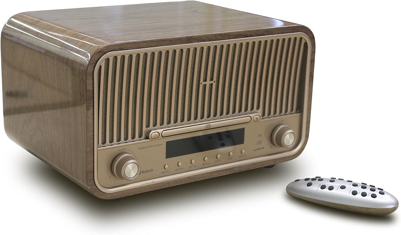 Neon mcb820d–Retro CD Micro Hi-Fi System–Dab +/FM–Bluetooth