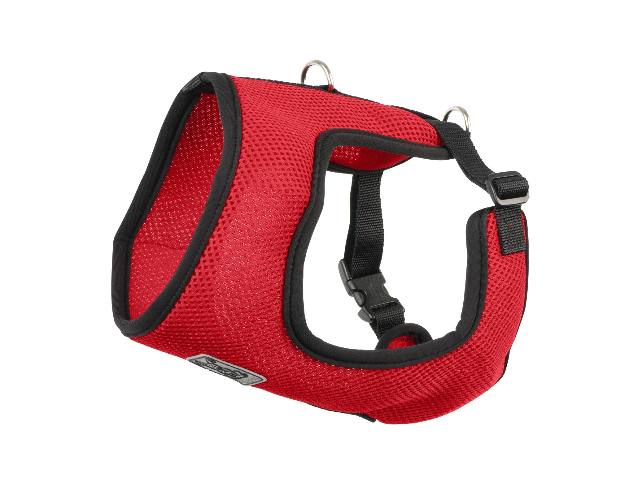 RC Pet Products Cirque Soft Walking Dog Harness, Small, Red