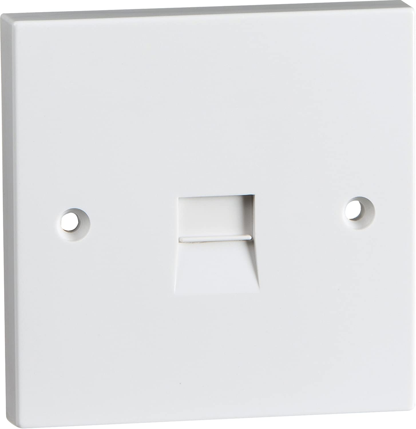 86x86mm inside wall mounting box flush mounted for faceplate 2pcs//pack