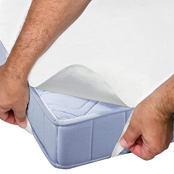 Beautissu Protector de colchón Impermeable BEAUTECT MA Molton Cubre Colchón Transpirable, hipoalergénico, Anti Àcaros y Antibacteriano 90x200 cm: Amazon.es: ...