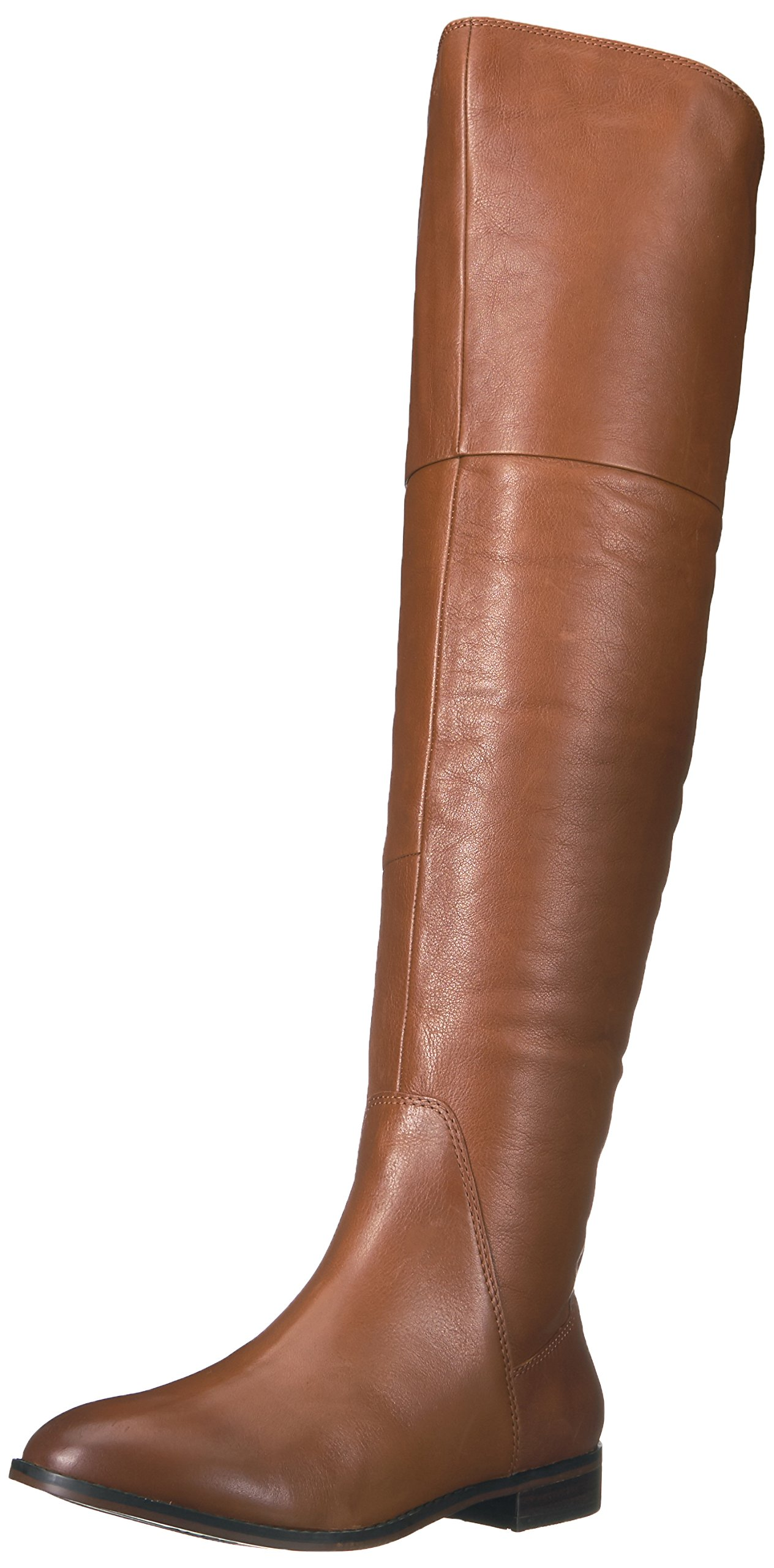 Aldo Women's Fudge Riding Boot, Cognac, 7.5 B US