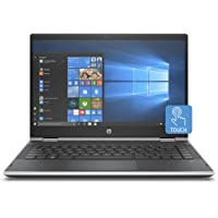 HP Pavilion x360 14-cd0015nl, PC Convertibile, Intel Pentium Gold 4415U, 8 GB di RAM, 128 GB SSD, Audio B&O PLAY, Argento Naturale