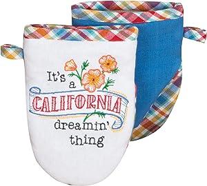 Kay Dee Designs ST Thing California Grabber Oven Mitt, 7.5 x 5.5, Various