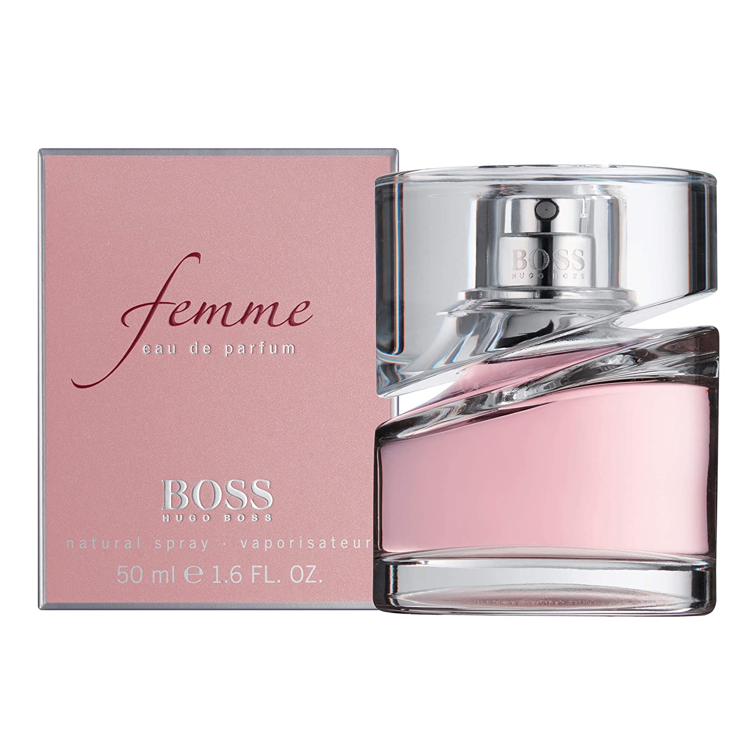 56d26a004db06 Hugo Boss Femme Eau de Parfum Spray for Women 50 ml  Amazon.co.uk  Beauty
