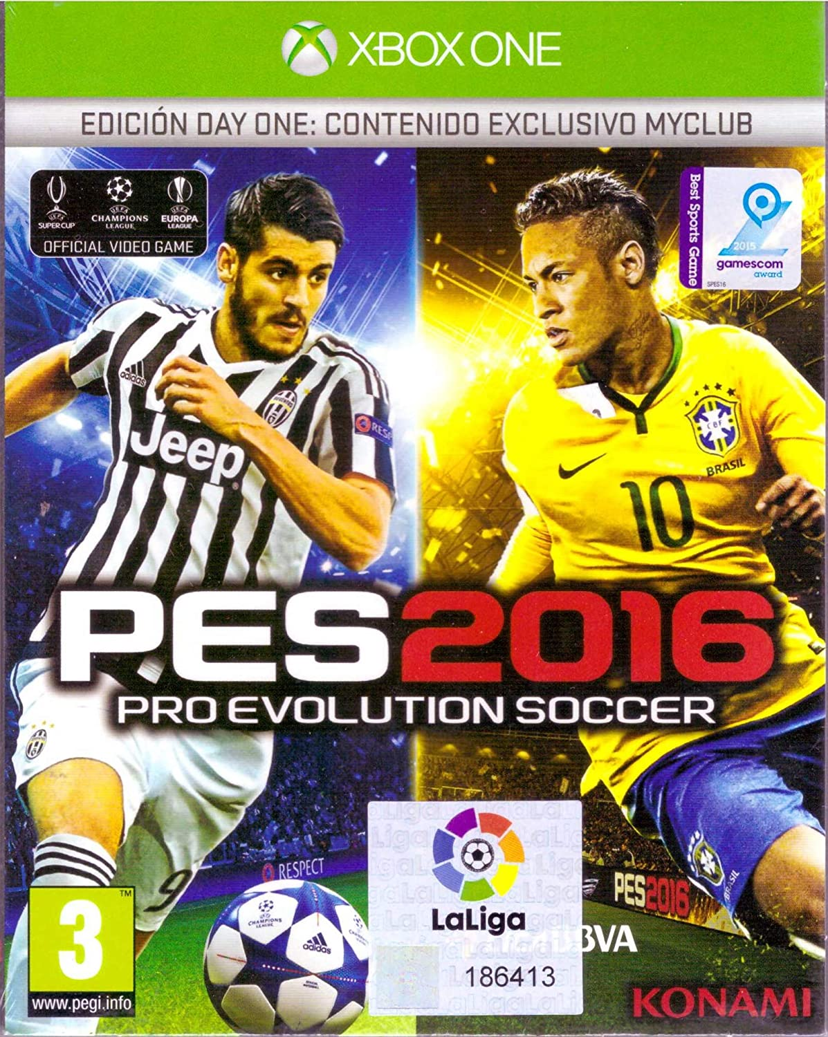 Pro Evolution Soccer 2016 Day One Xbox ONE(PROX): Amazon.es ...