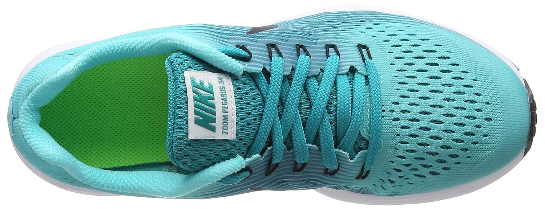 Nike Zoom Pegasus 34 GS, Zapatillas de Running para Niños, Turquesa (Aurora Black/Turbo Green/Blustery), 38.5 EU: Amazon.es: Zapatos y complementos
