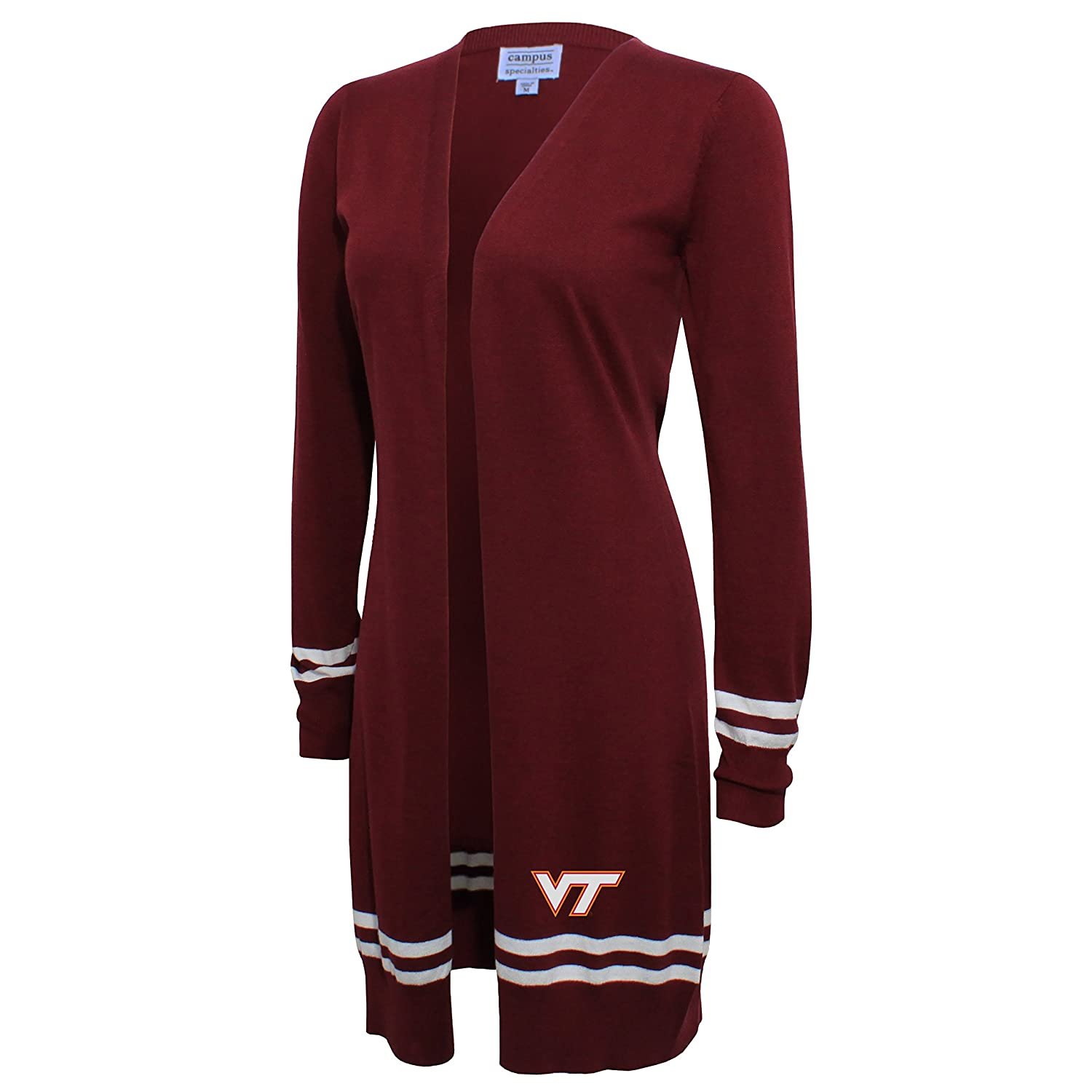NCAA Womens NCAA Womens Campus Specialties Long Open Cardigan