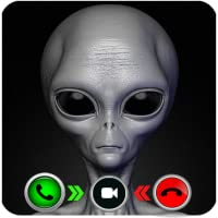 A Live Video Call From Alien - Prank call