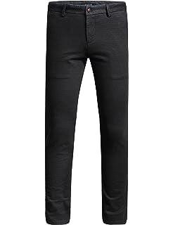 SSLR Jeans Vaqueros de Hombre Slim Fit Estilo a Cuadros (W36 ...