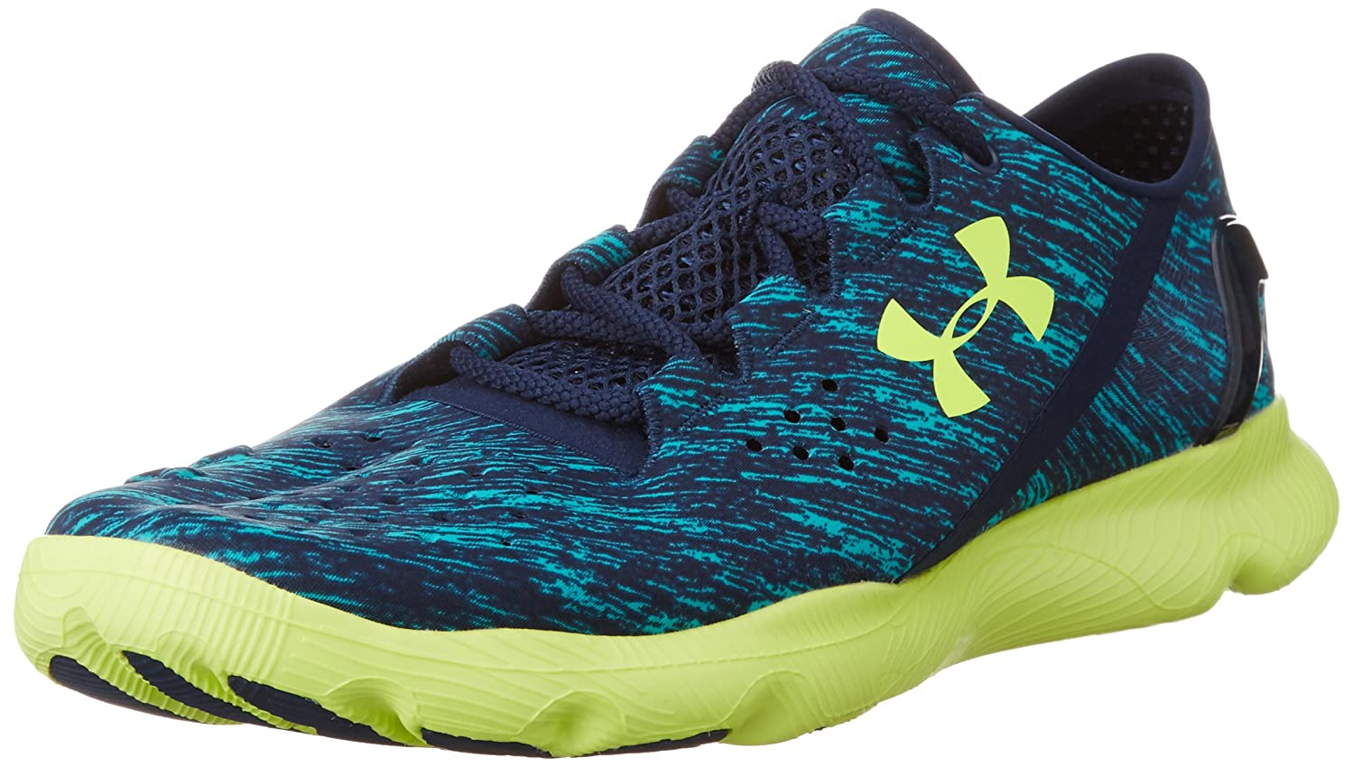 Under Armour SpeedForm Apollo Twist Running Shoes B00QJNU94E 12.5 D(M) US|Pacific/Academy/High-Vis Yellow