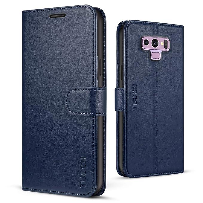 10 opinioni per TUCCH Custodia Galaxy Note 9, Custodia Portafoglio Note9 in Pelle Sintetica con