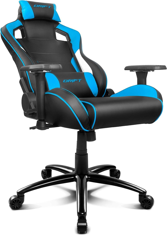Drift DR400BL - Silla Gaming Profesional, (Polipiel Alta Calidad ...