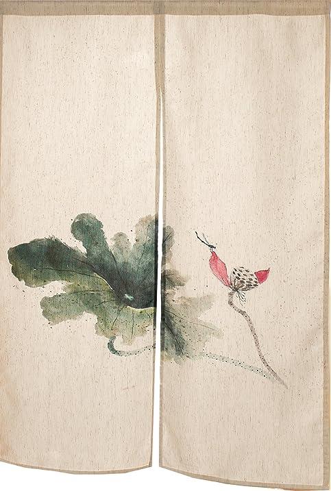 KARUILU Home Japanese Noren Doorway Curtain / Tapestry 33.5u0026quot; Width X  47.2u0026quot; Long (