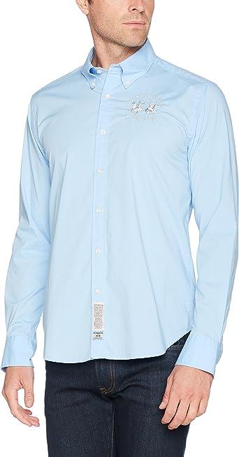 La Martina Camisa para Hombre: Amazon.es: Ropa y accesorios