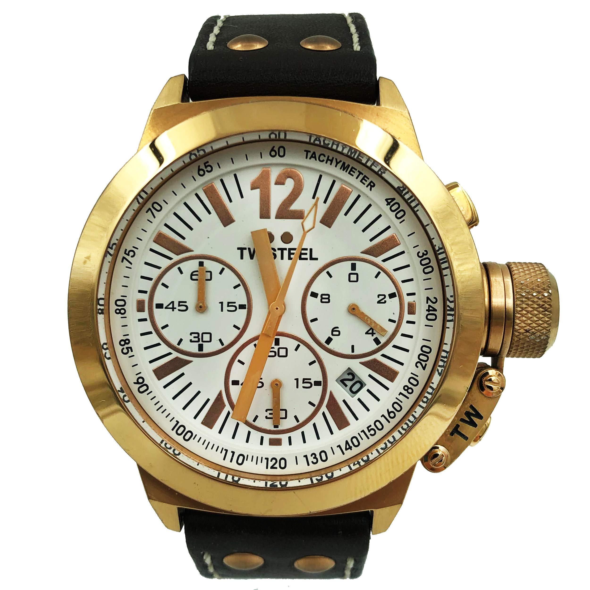 TW Steel CEO Quartz Male Watch CE1019R (Certified Pre-Owned) by TW Steel