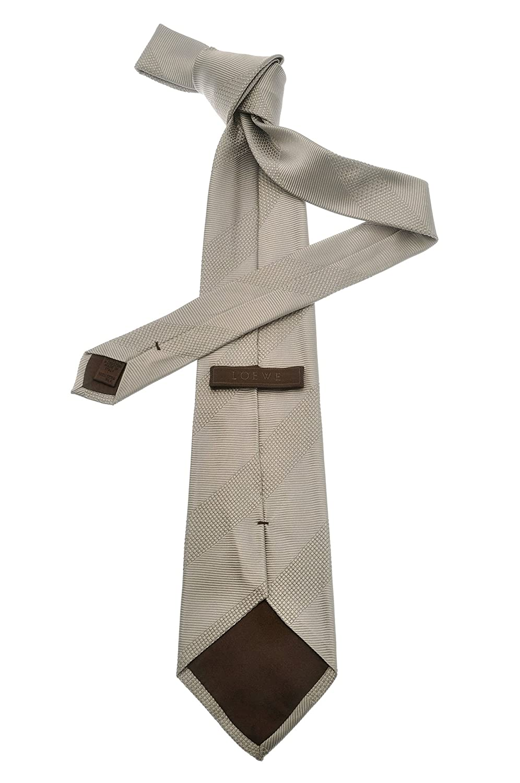 Loewe - Corbata - para hombre Gris gris claro Talla única: Amazon ...