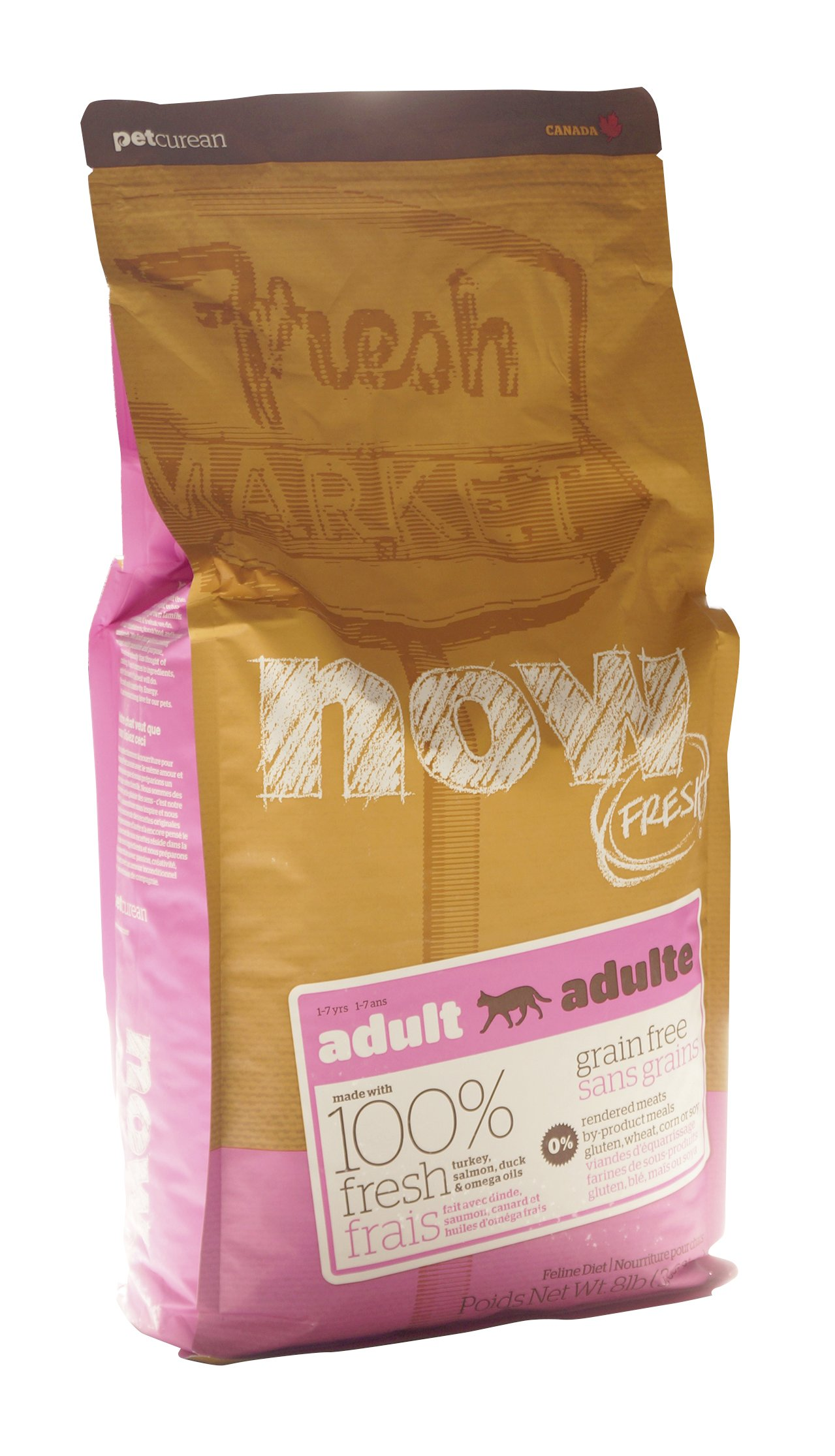 NOW! 152319 Fresh Grain Free Food for Adult Cats, 8-Pound Bag by Now (Image #4)