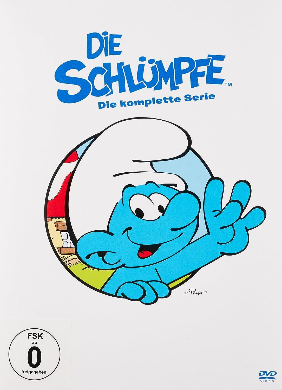 Die Schlümpfe - Die komplette Serie 43 Discs Alemania DVD ...