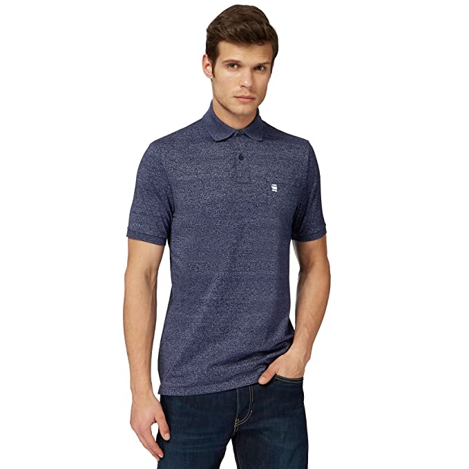 G-STAR RAW Core Pocket Polo S/s, Hombre, Azul (Imperial Blue 1305 ...