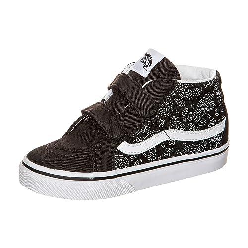 Vans K Sk8-Mid Reissue V - Zapatillas Unisex para Niños, Color Blanco, Talla 23.5 EU: Amazon.es: Zapatos y complementos