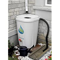 Deals on FreeGarden RAIN 55 Gal. Rain Barrel w/ Brass Spigot