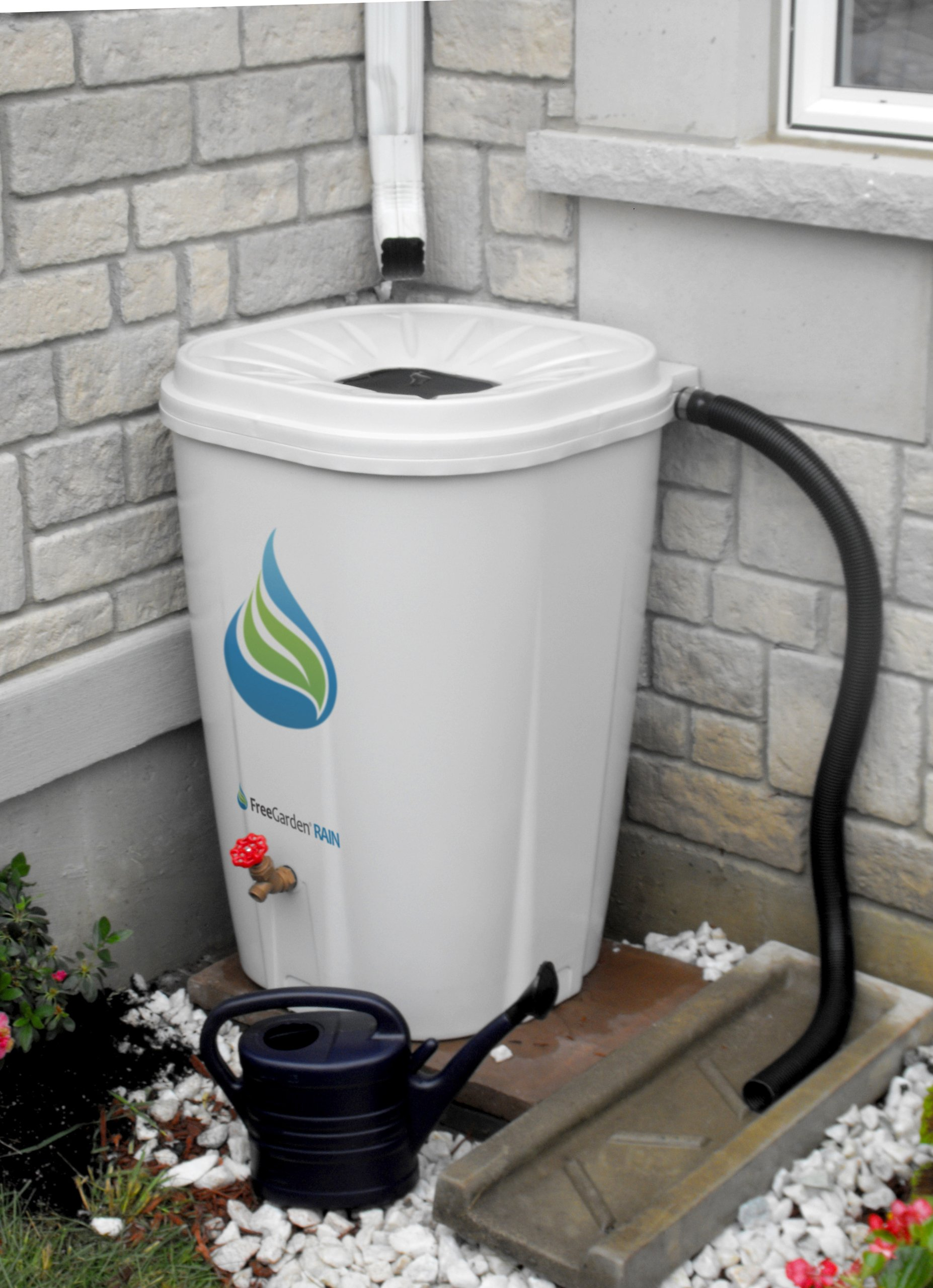 Enviro World EWC-10 FreeGarden Rain Barrel, Beige by Enviro World