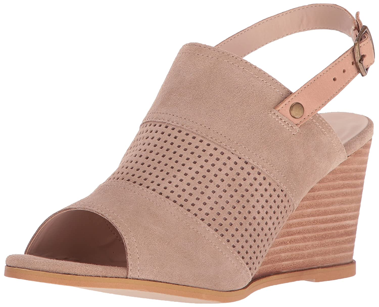 Very Volatile Women's Hyde Wedge Sandal B01LY9N4LS 8 B(M) US|Stone