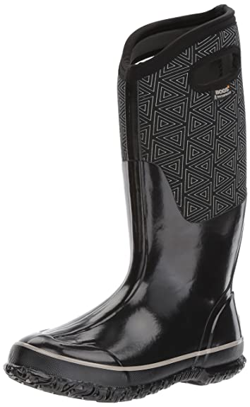 9d5c6796329 Amazon.com | Bogs Women's Classic Triangles Snow Boot | Shoes