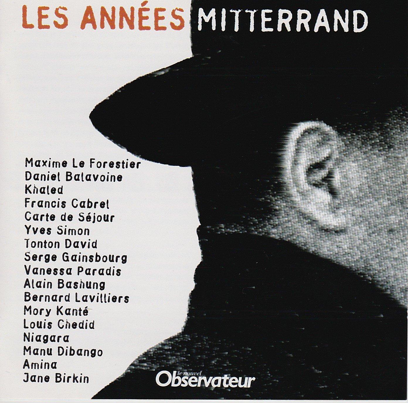 Les Annees Mitterrand : V, A.Chansons Francaises: Amazon.es ...