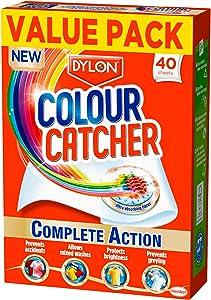 Dylon Colour Catcher Complete Action Laundry Sheets – 2 x 40 sheets