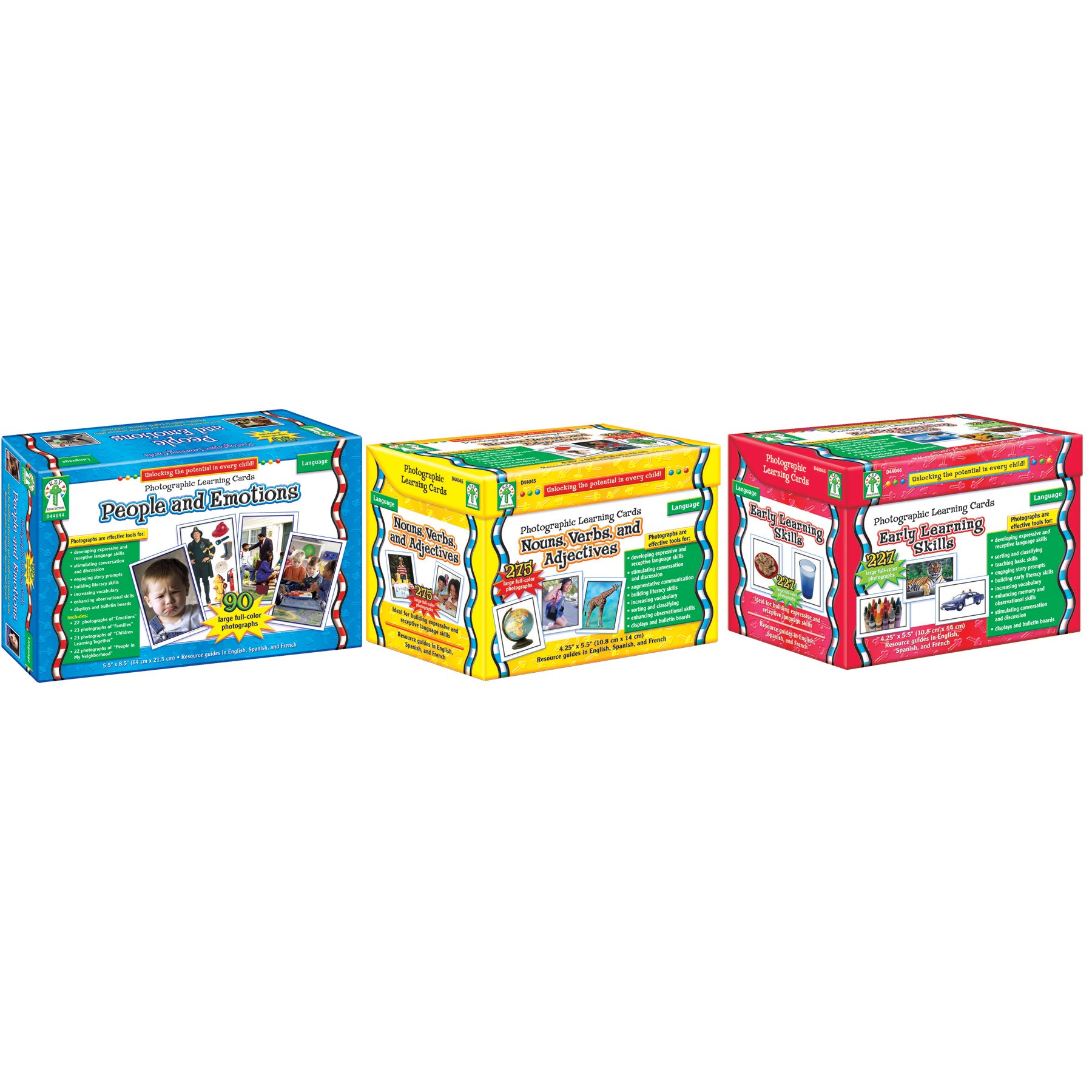 Carson-Dellosa CD-D44047 Classroom Photographic Learning Card Set (Pack of 534)