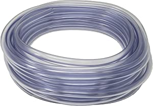 Sealproof 3/8-Inch ID x 1/2-Inch OD Unreinforced PVC - Food Grade Clear Vinyl Tubing, 50 FT