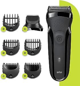 Braun Series 3 Shave&Style 300BT, Afeitadora Eléctrica 3 en 1, Máquina de Afeitar Para Hombre Con Recortadora De ...