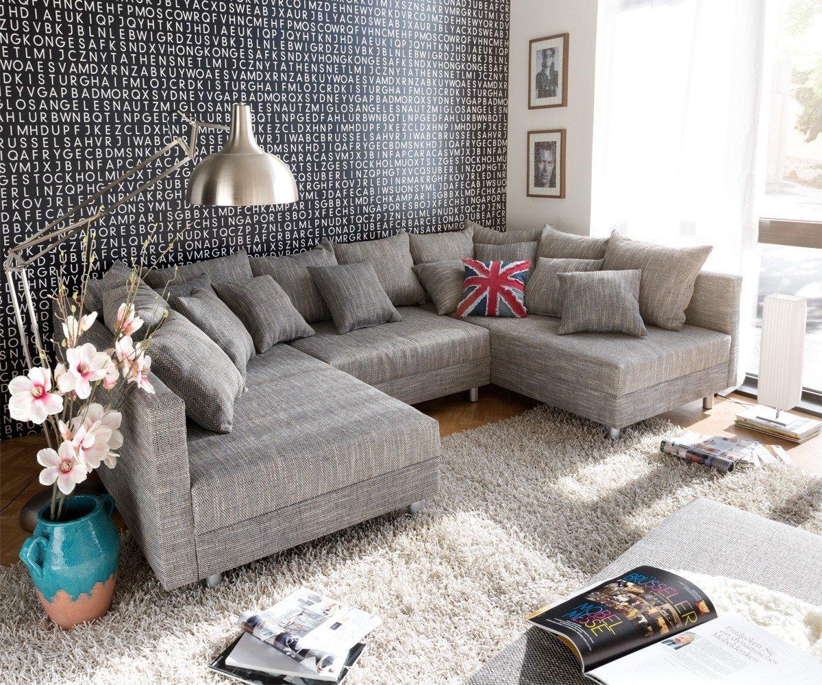 Sofa clovis erweiterbares modulsofa eckcouch wohnlandschaft (sofa ...