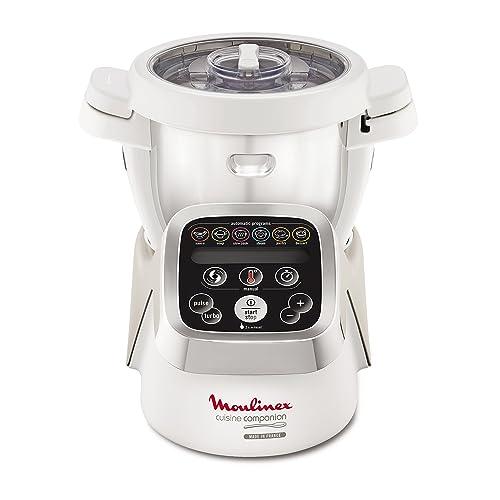 Moulinex Cuisine Companion HF802AA1 Robot de Cocina, 6 programas automáticos, Capacidad hasta 6 Personas