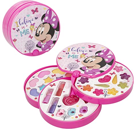 Disney - Set maquillaje infantil princesas Disney maletin maquillaje para niños niñas juego de maquillaje para niñas 5 años con 13 sombras regalo de princesa para niñas: Amazon.es: Juguetes y juegos