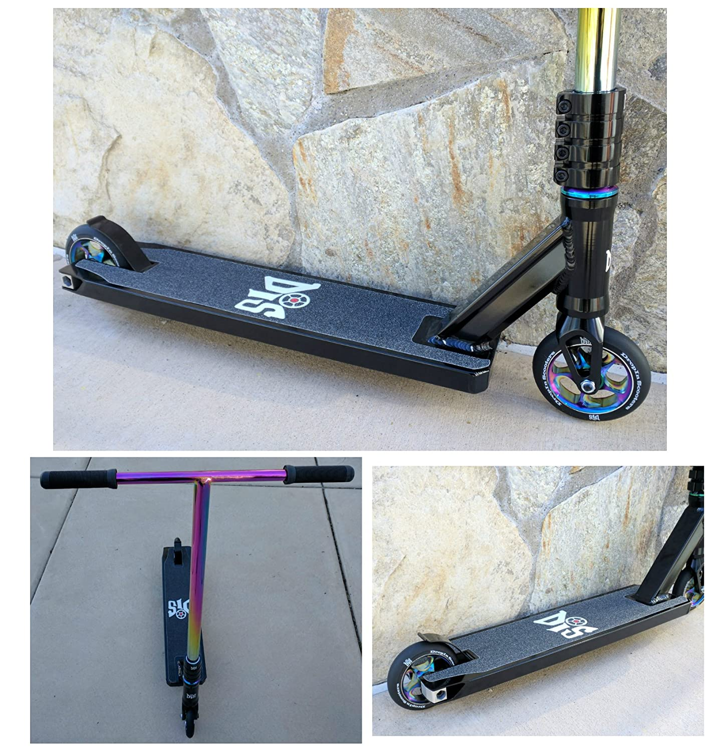 DropIn Scooters DIS Blackout Street Edition - Patinete ...