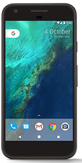 Google Pixel (Quite Black, 32GB) Smartphones at amazon